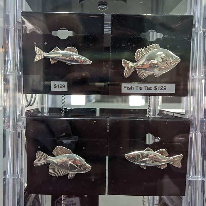 Fish Tie Tacs @ TOJ Custom Jewelry
