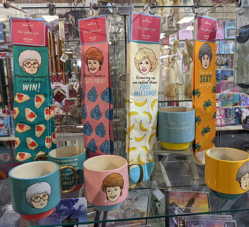 Golden Girl Socks & Mugs @ Mariellen's Hallmark