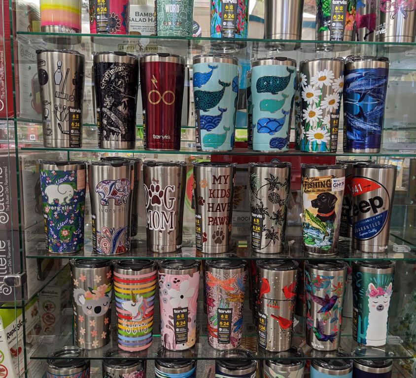 Insulated Mugs @ Mariellen's Hallmark
