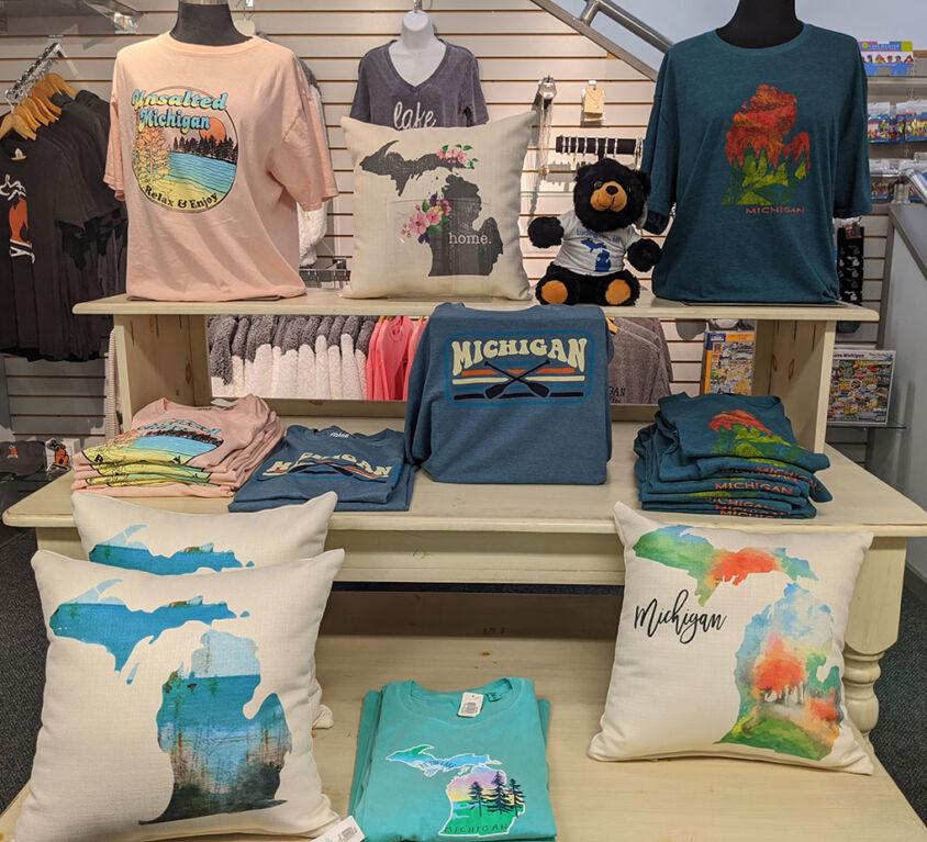 Michigan Tees & Pillows @ Mariellen's Hallmark