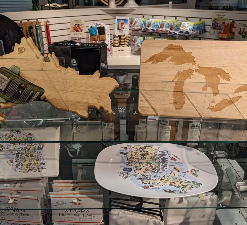 Cutting Boards and Serving Plates @ Mariellen's Hallmark