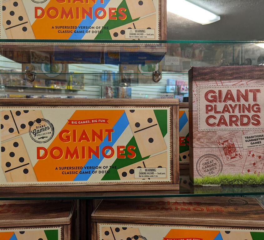 Giant Games @ Mariellen's Hallmark