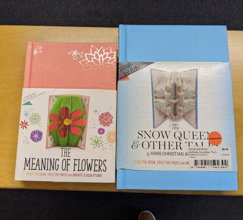 Folding Book Craft @ Windowsill