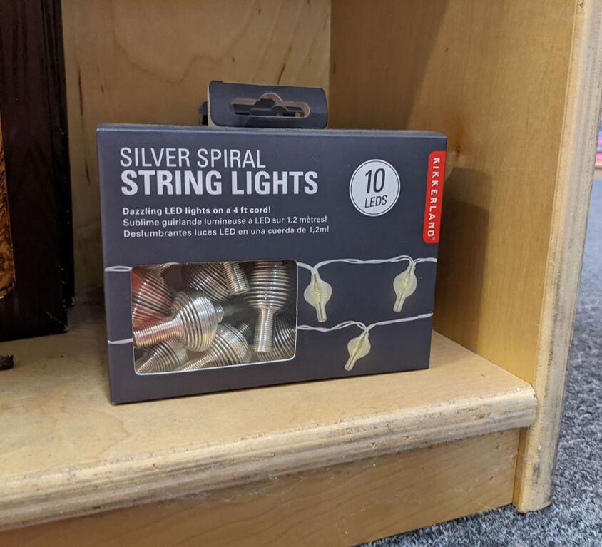 Mini String Lights @ Windowsill