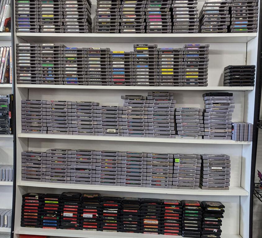 Video Games @ Backstage Hobbies & Games
