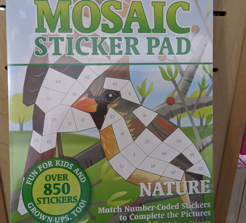 Sticker Book @ Backstage Hobbies & Games