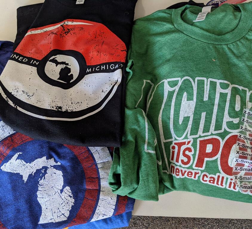 Michigan Shirts @ Backstage Hobbies & Games