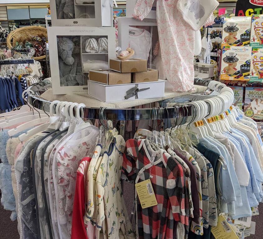 Clothes and Blankets @ Purple Monkey Children's Boutique