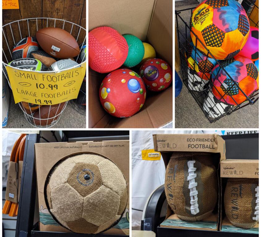 Sports Balls @ Provisions Sport Shop