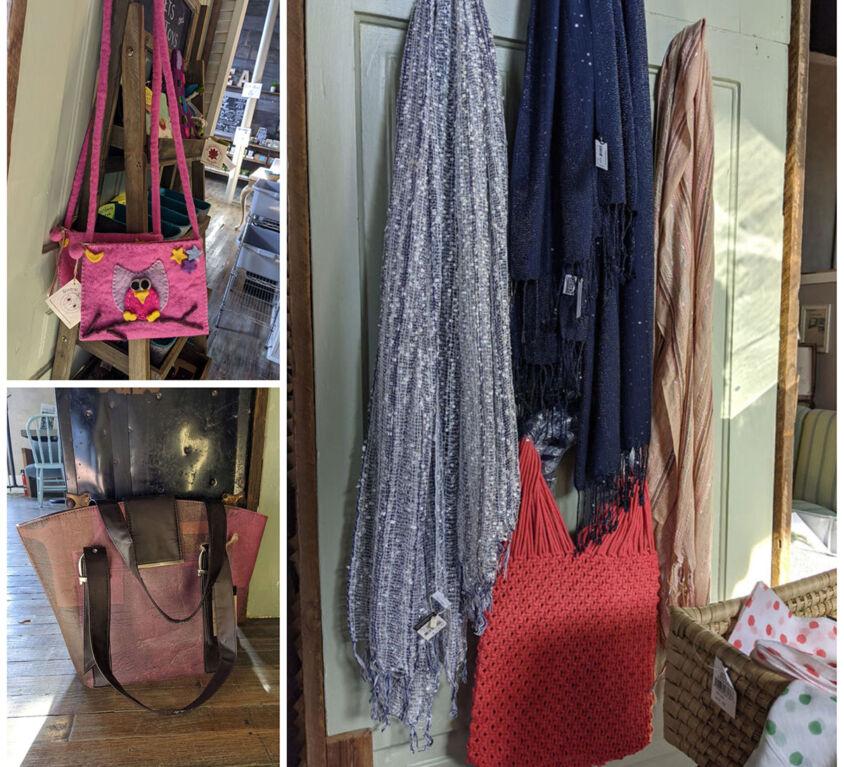 Bags & Scarves @ HumaniTea