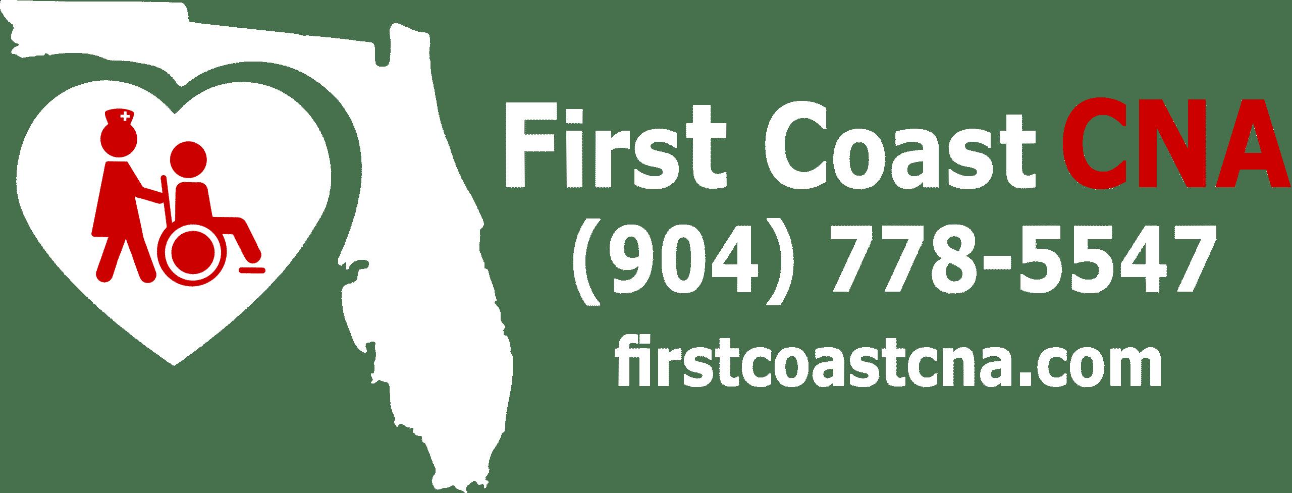 FCCNA Logo n wording White & Red Footer Transparent