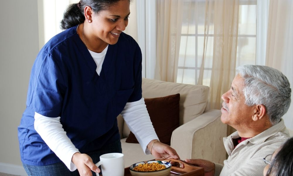 Tips for Assisting Patients With Eating and Drinking