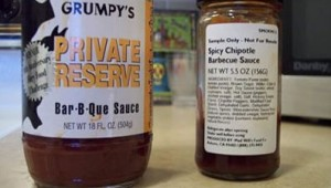 Grumpy's Private Reserve Bar-B-Que Sauce vs. Mad Will's Chipotle Barbecue Sauce