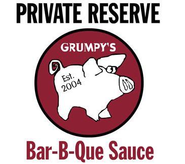 Grumpy's Private Reserve Bold XX Bar-B-Que Sauce