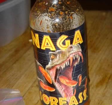 CaJohn's Naga Soreass Hot Sauce