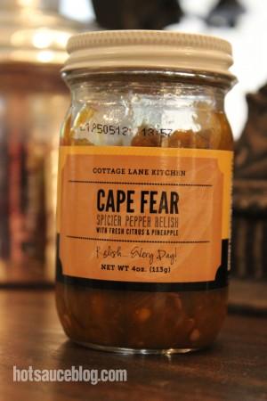 Cape Fear Spicier Pepper Relish Bottle