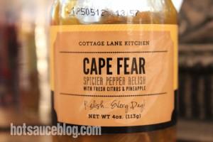 Cape Fear Spicier Pepper Relish