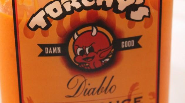 Torchys Hot Sauce Bottle