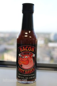 Bacon Hot Sauce Bottle
