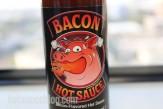 Bacon Hot Sauce Label