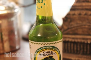 La Anita Green Chile Habanero Hot Sauce - Lava Lamp?