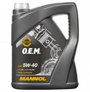 5W40 O.E.M FOR IMPORT AND DOMESTIC (MN7711)