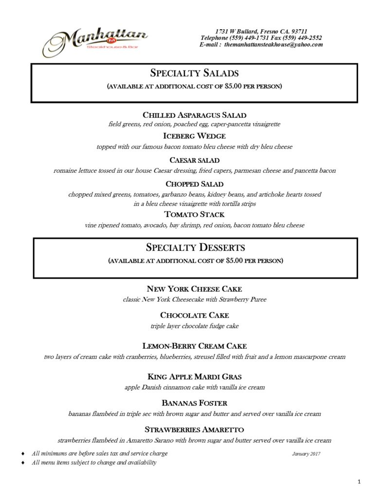2017 Classics 5th Avenue and Founders club apps. PG 6