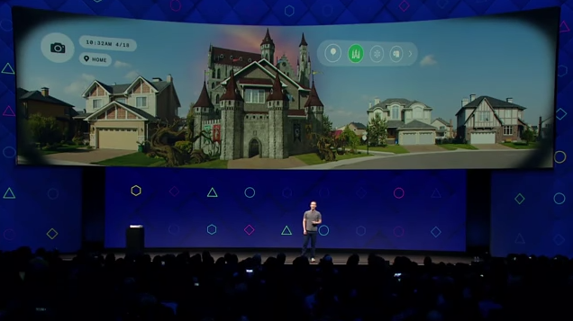 """Facebook:  """"We're making the camera the first augmented reality platform."""""""