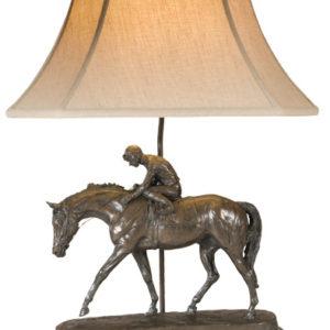 WELL RUN RACEHORSE LAMP