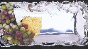 HORSES BREAD TRAY