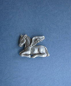 ANGEL FOAL PIN