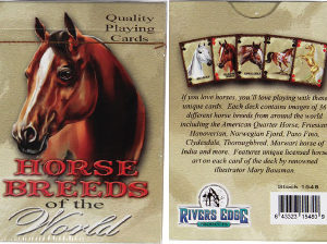 Horse Breed Playing Cards