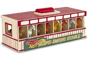 Horse Show Stable Set