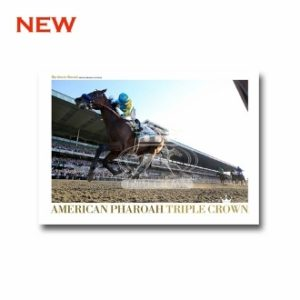 AMERICAN PHAROAH TRIPLE CROWN POSTER