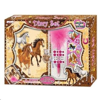 HORSE DIARY SET