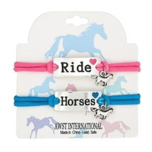 RIDE HORSES STRETCH BRACELETS