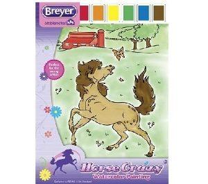 Breyer Horse Water Color Book