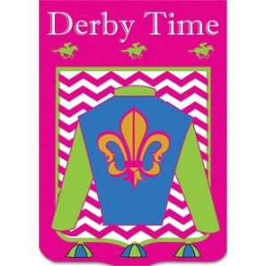 DERBY SILKS FLAG