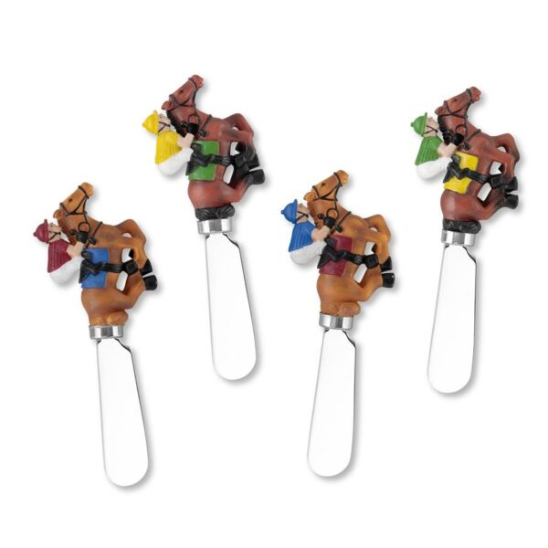 Horse Racing Cheese Spreaders