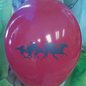Horse Racing Balloons