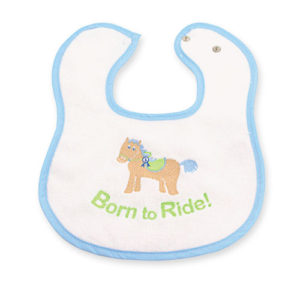 Horsey Baby Bib
