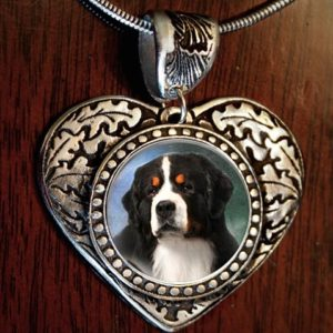 Bernese Heart Necklace2
