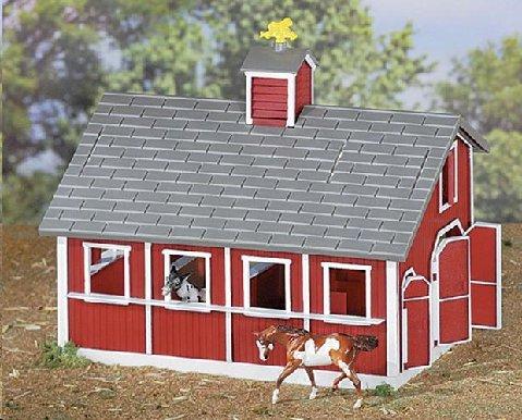 Breyer Red Barn Set