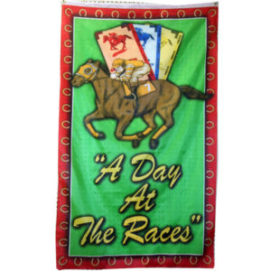 Day At The Races Flag