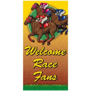 Racehorse Giant Door Poster