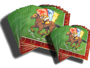 DAY AT THE RACES NAPKINS