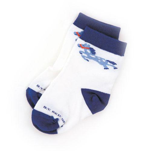 Infant Foal Socks Blue