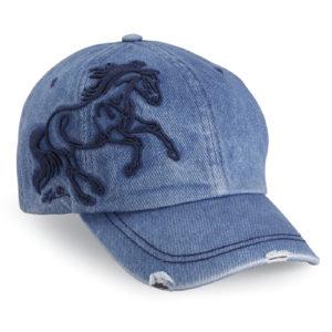 Galloping Horse Denim Cap