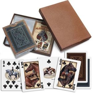 Equestrian Themed Playing Cards