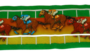 Day At The Races Table Runner